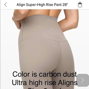 New in package ! Aligns size 2